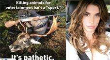 Elisabetta Canalis: «La caccia è da sfigati»