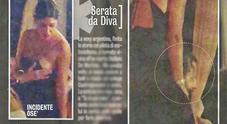 Belen Rodriguez, incidente hot con Martin Castrogiovanni (Diva e donna)