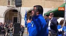 Cannabis light, Salvini: «Chiusi 2 negozi nelle Marche, spaccio di Stato non è futuro che auspico per Italia»