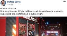/Salvini: «Una preghiera per Antonio»