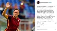 Corona si scusa con Totti (e non con Ilary Blasi): «Sei un grande uomo»