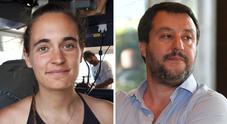 Carola Rackete querela Salvini