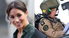Meghan è incinta e il principe Harry gioca con i marines a invadere la Russia