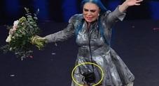 Sanremo, Loredana Bertè e la borsetta: ecco cosa c'era dentro