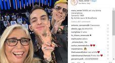 Domenica In, gaffe di Achille Lauro sul post Instagram di Mara Venier: pensa al Sanremo di 50 anni fa