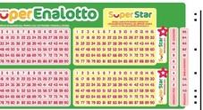 SuperEnalotto, vinti 2.6 milioni con un sistema da 99 quote (a 70 euro l'una)