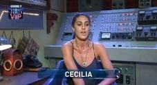 Cecilia furiosa con il fidanzato