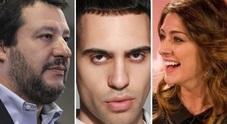 Mahmood, Elisa Isoardi e Salvini: il vincitore di Sanremo divide i due ex fidanzati