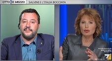 Salvini-Gruber, lite a Otto e Mezzo: «Mi avete dato del razzista». Lei: «Le devo togliere l'audio?»