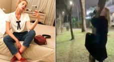 Alessia Marcuzzi nostalgica, torna nella sua Casal Palocco: «Qui sono nata»