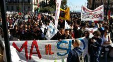 «Mai con Salvini», ecco le mille anime del corteo