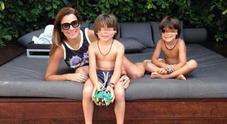 Alena Seredova pubblica la foto del figlio: la somiglianza con Buffon è impressionante