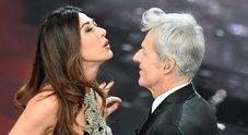 Sanremo, Claudio Bisio e Virginia Raffaele sul palco al fianco di Baglioni