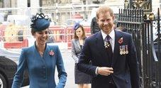 Harry e Kate insieme a Westminster senza Meghan e William: tra i due regna perfetta armonia