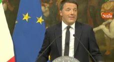 Video Renzi: volevo cancellare le poltrone invece salta la mia