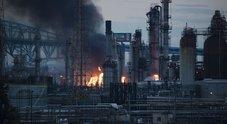 Filadelfia, grande incendio in una raffineria dopo un'esplosione