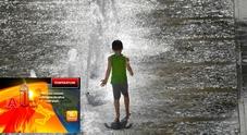 Previsioni Meteo, caldo africano per tre giorni: domani bollino rosso in 6 città, venerdì in 16