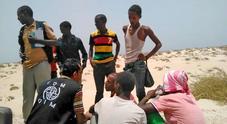 Altri 180 scaricati in mare in Yemen