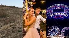 Ferragnez, il dietro le quinte delle nozze di Chiara e Fedez: «Così è nata l'idea del luna park»