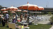 Spiaggia sul Tevere, funzionaria del Comune verso la sospensione