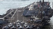 La flotta Nato: missili dalle navi