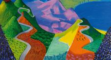 Quadro record da 90,3 mln di dollari appartiene a David Hockney che oggi dipinge su iPad