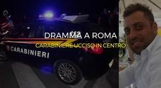 Carabiniere ucciso a Roma in pieno centro