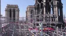 Sul tetto di Notre-Dame, qualche giorno prima dell'incendio