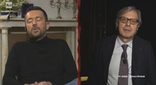 """Sgarbi e Scanzi, scontro choc in tv: """"Finocchietto rotto in c..."""". E il giornalista ha la risposta pronta"""