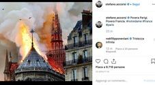 Notre Dame, Stefano Accorsi in lacrime per la sua Parigi: «Povera Francia»