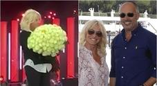 Antonella Clerici, sorpresa romantica sul palco di Sanremo