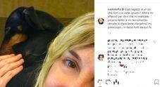 Nadia Toffa ricompare con un nuovo post sui social dopo un lungo silenzio, i fan sono preoccupati