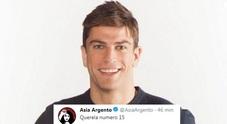 Asia Argento contro Filippo Contri: «Querela numero 15»
