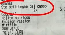 Venezia, scontrino con l'insulto choc al bar: «Ste betoneghe del c...»