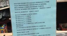 «Se fai vedere il seno bevi gratis»: bufera sul cartello esposto in un bar a Treviso