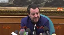 Il vicepremier: «Bizzarro vedere festeggiare il Pd perché è arrivato secondo»