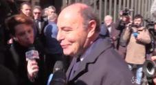 Bruno Vespa: «E' indimenticabile, sempre col sorriso»