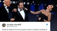 Sanremo, Rita Dalla Chiesa: «Bertè eliminata e i conduttori ridevano...». E Loredana cita Frizzi
