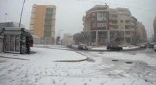 /Il video: Brindisi sotto la neve