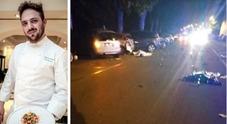 Lo chef Narducci ucciso dall'automobilista al cellulare
