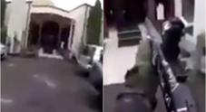 Il video in diretta del terrorista