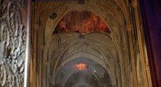 Notre-Dame, le immagini dell'interno dopo il rogo