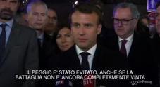 Notre Dame, Macron: «Sarà ricostruita»