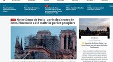 Notre-Dame, le prima pagine dei giornali internazionali