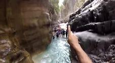 Gole del Raganello, meta turistica per il canyoning - Video