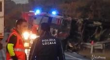 Le immagini dal luogo dell'esplosione
