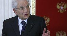 Mattarella: «Atto vile, non ci fermeranno»