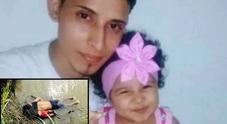 Oscar e Valeria, morti annegati nel fiume. «Un viaggio di mille miglia sognando un futuro migliore»