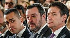L'addio del premier: schiaffo a Salvini