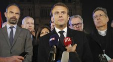 Macron:«Ricostruzione in 5 anni»